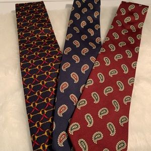 Brooks Brothers XL Men's Ties. Lot Of 3.